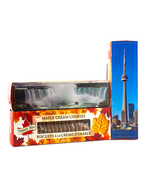 Maple Cream Cookies CN Tower & Niagara Falls