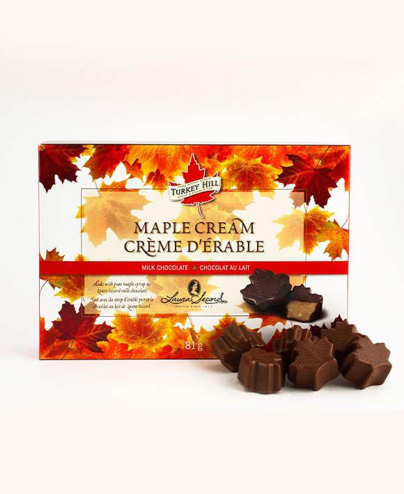 Maple cream chocolates
