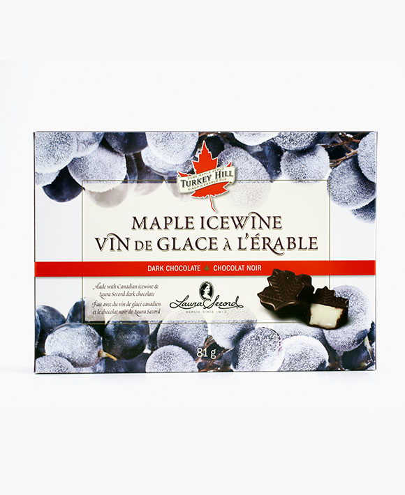 Maple Icewine chocolates