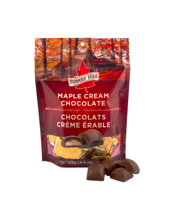 Maple Cream Chocolate Pouch